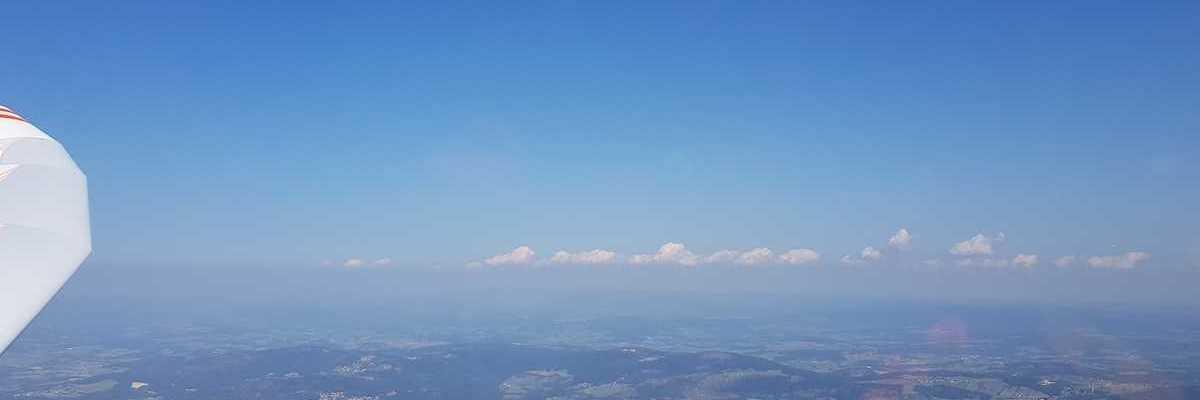 Flugwegposition um 08:51:16: Aufgenommen in der Nähe von Passau, Deutschland in 1731 Meter
