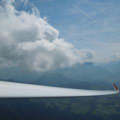 Flugwegposition um 14:31:06: Aufgenommen in der Nähe von Gemeinde Spital am Semmering, Österreich in 2413 Meter