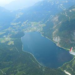 Flugwegposition um 15:12:32: Aufgenommen in der Nähe von Wiener Neustadt, Österreich in 526 Meter