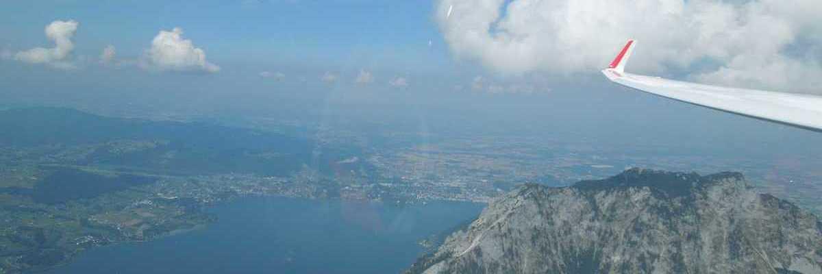 Flugwegposition um 13:56:24: Aufgenommen in der Nähe von Kindberg, Österreich in 2331 Meter