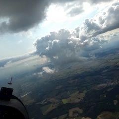Flugwegposition um 13:14:59: Aufgenommen in der Nähe von Passau, Deutschland in 1799 Meter