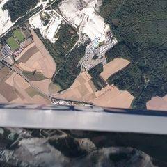 Flugwegposition um 14:03:31: Aufgenommen in der Nähe von Amberg-Sulzbach, Deutschland in 2158 Meter