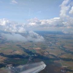 Flugwegposition um 11:42:56: Aufgenommen in der Nähe von Passau, Deutschland in 1259 Meter