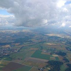 Flugwegposition um 11:42:49: Aufgenommen in der Nähe von Passau, Deutschland in 1270 Meter