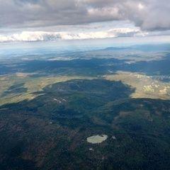 Flugwegposition um 15:35:54: Aufgenommen in der Nähe von Freyung-Grafenau, Deutschland in 2358 Meter