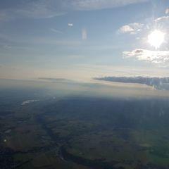 Flugwegposition um 16:20:44: Aufgenommen in der Nähe von Passau, Deutschland in 1717 Meter