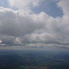 Flugwegposition um 10:49:16: Aufgenommen in der Nähe von Okres Český Krumlov, Tschechien in 1838 Meter