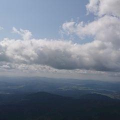 Flugwegposition um 11:22:33: Aufgenommen in der Nähe von Okres Prachatice, Tschechien in 1712 Meter