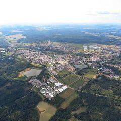 Flugwegposition um 13:41:55: Aufgenommen in der Nähe von Gemeinde Hoheneich, Österreich in 1375 Meter