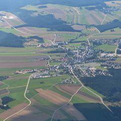 Flugwegposition um 14:36:35: Aufgenommen in der Nähe von Gemeinde Kottes-Purk, Österreich in 2086 Meter