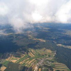 Flugwegposition um 14:32:28: Aufgenommen in der Nähe von Gemeinde Sallingberg, Österreich in 2238 Meter
