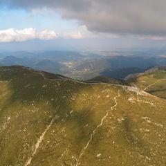 Flugwegposition um 16:18:01: Aufgenommen in der Nähe von Gemeinde Schwarzau im Gebirge, Österreich in 2118 Meter