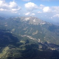 Verortung via Georeferenzierung der Kamera: Aufgenommen in der Nähe von Gemeinde Mitterbach am Erlaufsee, Österreich in 2200 Meter