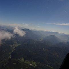 Flugwegposition um 09:12:27: Aufgenommen in der Nähe von Gemeinde Micheldorf in Oberösterreich, Österreich in 474 Meter