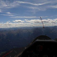 Flugwegposition um 11:29:46: Aufgenommen in der Nähe von Gemeinde Mühlbach am Hochkönig, 5505 Mühlbach am Hochkönig, Österreich in 2119 Meter