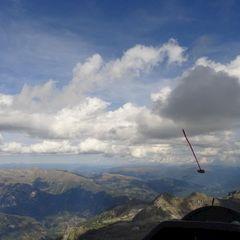 Flugwegposition um 13:16:46: Aufgenommen in der Nähe von 39030 Kiens, Bozen, Italien in 2935 Meter