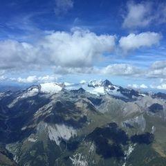 Verortung via Georeferenzierung der Kamera: Aufgenommen in der Nähe von Gemeinde Kals am Großglockner, 9981, Österreich in 3600 Meter