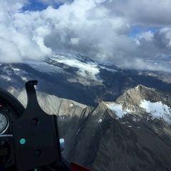 Verortung via Georeferenzierung der Kamera: Aufgenommen in der Nähe von Gemeinde Matrei in Osttirol, Österreich in 3500 Meter