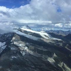 Verortung via Georeferenzierung der Kamera: Aufgenommen in der Nähe von Gemeinde Kals am Großglockner, 9981, Österreich in 3400 Meter