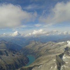 Flugwegposition um 12:08:50: Aufgenommen in der Nähe von 39030 Prettau, Bozen, Italien in 3857 Meter
