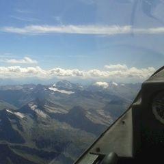 Flugwegposition um 12:09:01: Aufgenommen in der Nähe von 39030 Prettau, Bozen, Italien in 3854 Meter