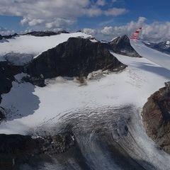 Flugwegposition um 13:26:20: Aufgenommen in der Nähe von 39040 Ratschings, Bozen, Italien in 3304 Meter