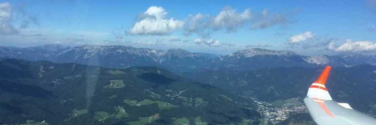 Verortung via Georeferenzierung der Kamera: Aufgenommen in der Nähe von Gemeinde Langenwang, Österreich in 1900 Meter