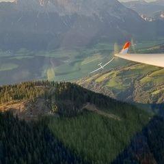 Flugwegposition um 16:51:03: Aufgenommen in der Nähe von Öblarn, 8960 Öblarn, Österreich in 1786 Meter