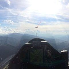 Flugwegposition um 14:15:02: Aufgenommen in der Nähe von Leoben, 8700 Leoben, Österreich in 2273 Meter