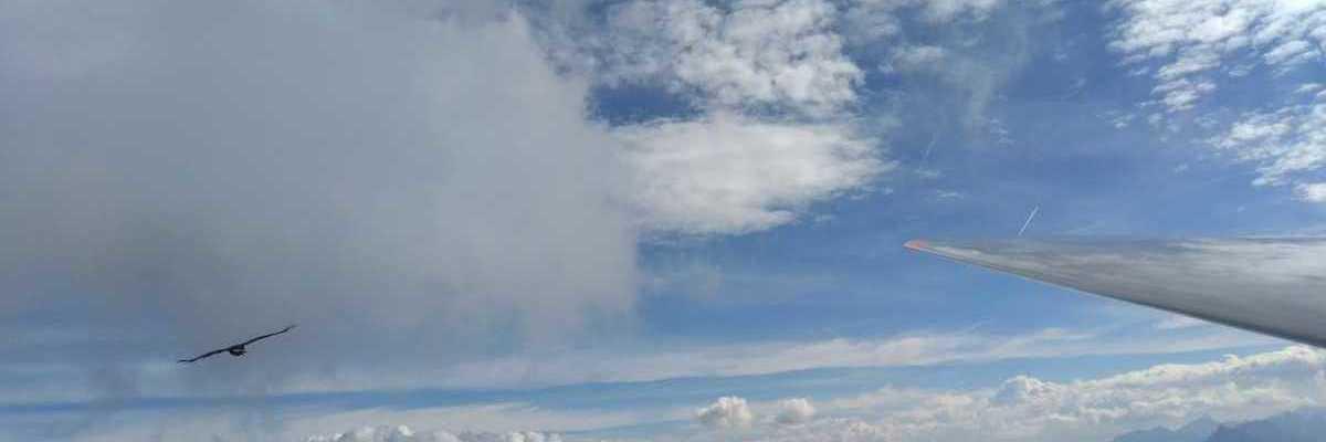Verortung via Georeferenzierung der Kamera: Aufgenommen in der Nähe von Gemeinde Thaur, Thaur, Österreich in 2800 Meter