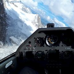 Flugwegposition um 13:11:47: Aufgenommen in der Nähe von 39049 Pfitsch, Bozen, Italien in 3360 Meter