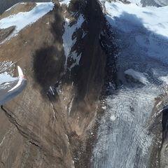 Flugwegposition um 13:12:08: Aufgenommen in der Nähe von 39049 Pfitsch, Bozen, Italien in 3395 Meter