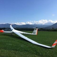 Verortung via Georeferenzierung der Kamera: Aufgenommen in der Nähe von Gemeinde Nötsch im Gailtal, Österreich in 600 Meter