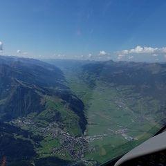 Flugwegposition um 11:41:41: Aufgenommen in der Nähe von Gemeinde Bruck an der Großglocknerstraße, Bruck an der Großglocknerstraße, Österreich in 2354 Meter