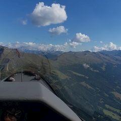 Flugwegposition um 13:41:22: Aufgenommen in der Nähe von Gemeinde Rauris, 5661, Österreich in 2235 Meter