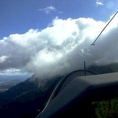 Flugwegposition um 09:02:38: Aufgenommen in der Nähe von Gemeinde Finkenstein am Faaker See, Österreich in 1810 Meter
