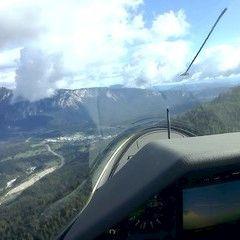 Flugwegposition um 08:37:38: Aufgenommen in der Nähe von 33018 Tarvis, Udine, Italien in 1492 Meter