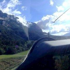 Flugwegposition um 08:27:38: Aufgenommen in der Nähe von Gemeinde Hohenthurn, Hohenthurn, Österreich in 1089 Meter
