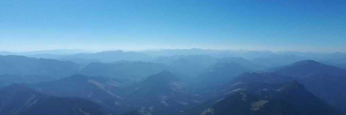 Flugwegposition um 12:07:28: Aufgenommen in der Nähe von Gemeinde Schwarzau im Gebirge, Österreich in 2148 Meter
