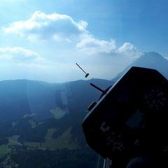 Flugwegposition um 12:51:34: Aufgenommen in der Nähe von Gemeinde Leutasch, Österreich in 1805 Meter