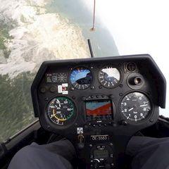 Flugwegposition um 12:34:51: Aufgenommen in der Nähe von Innsbruck, Österreich in 1769 Meter