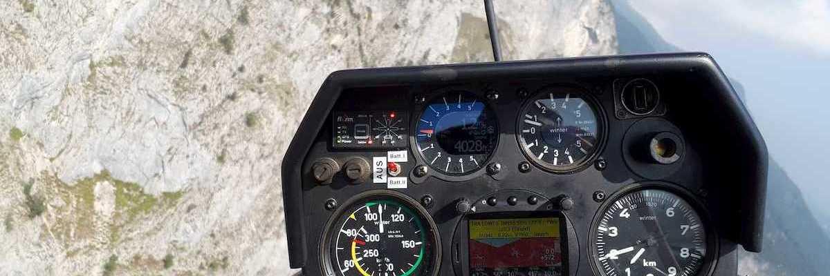 Flugwegposition um 11:43:24: Aufgenommen in der Nähe von Innsbruck, Österreich in 1234 Meter