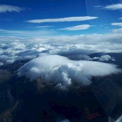 Flugwegposition um 12:29:43: Aufgenommen in der Nähe von Gemeinde Sistrans, Sistrans, Österreich in 4441 Meter