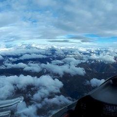Flugwegposition um 14:41:22: Aufgenommen in der Nähe von Gemeinde Ellbögen, Österreich in 4712 Meter