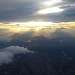 Flugwegposition um 16:00:58: Aufgenommen in der Nähe von Gußwerk, Österreich in 3342 Meter