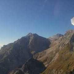 Flugwegposition um 23:00:00: Aufgenommen in der Nähe von Admont, Österreich in 4700 Meter