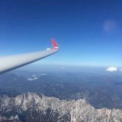 Verortung via Georeferenzierung der Kamera: Aufgenommen in der Nähe von Hall, 8911 Hall, Österreich in 3600 Meter