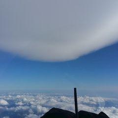 Flugwegposition um 12:00:00: Aufgenommen in der Nähe von Gemeinde Rauris, 5661, Österreich in 5869 Meter