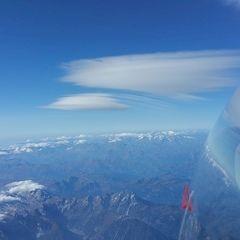 Flugwegposition um 09:32:25: Aufgenommen in der Nähe von Gemeinde Forstau, 5552, Österreich in 5693 Meter