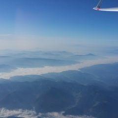 Flugwegposition um 07:52:29: Aufgenommen in der Nähe von Gemeinde Schwarzau im Gebirge, Österreich in 4542 Meter